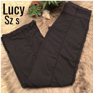 Lucy-Active Pant-Black-Full Length-Straight Leg